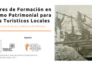 Thumbnail for the post titled: CCMMN: Se abren postulaciones on line para Talleres de Formación en Turismo Patrimonial destinados a Guías Turísticos